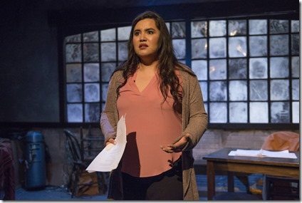 Karen Rodriguez stars in The Way She Spoke, Solo Celebration, Greenhouse Theater