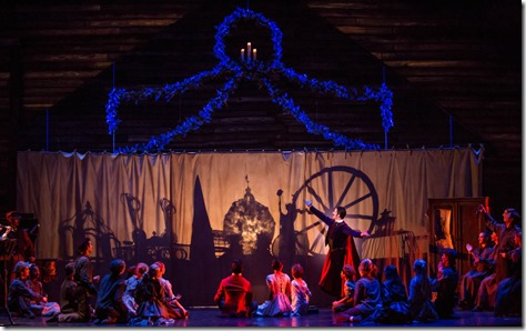 Miguel Angel Blanco stars as The Great Impresario in The Nutcracker, Joffrey Ballet