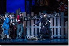 Rory Hohenstein as The Rat Catcher in The Nutcracker by Christopher Wheeldon, Joffrey Ballet