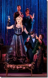 Kelly Britt stars as Adele in Die Fledermaus at Light Opera Works