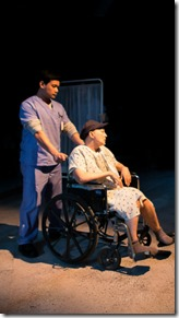 Kroydell Galima and Lisa Tejero star in Wit by Margaret Edson, The Hypocrites Chicago