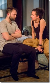 Cody Proctor and Kristina Valada-Viars star in The Source by Gabriel McKinley, Route 66 Theatre 4