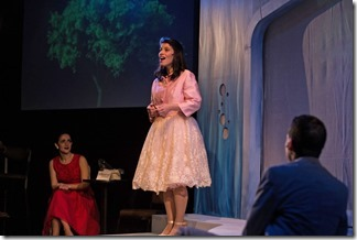 Phoebe González stars as Maruja in La Havana Madrid, Teatro Vista Steppenwolf