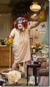 Francis Guinan stars as Arnold in Hir, Steppenwolf Theatre