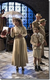 Laura McClain, Ben Miller and Larry Baldacci star in Ragtime, Griffin Theatre