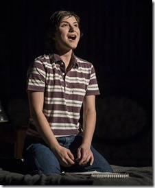 Hannah Starr stars as Medium Alison in Fun Home, Victory Gardens Theater