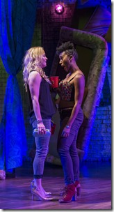 Kelly O'Sullivan  and Celeste M. Cooper star in BLKS by Aziza Barnes at Steppenwolf Theatre