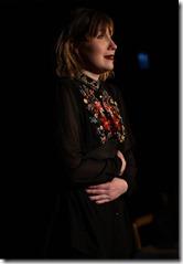 Ariana Silvan-Grau stars in Why Do You Always Wear Black, Organic Theater (photo by Anna Gelman)