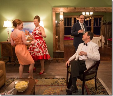 Sarah Grant, Brianna Borger, Paul Fagen and Brian McCaskill star in Southern Gothic, Windy City Playhouse