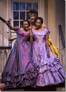 Tamberla Perry, Ericka Ratcliff and Lily Mojekwu star in Plantation, Lookingglass Theatre
