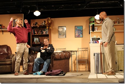 Watson Swift, RjW Mays and Christopher K. McMorris star in Kingdom, Broken Nose Theatre