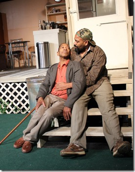 Watson Swift and Christopher K. McMorris star in Kingdom, Broken Nose Theatre