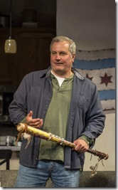 Keith Kupferer stars as Roger in Support Group for Men, Goodman Theatre