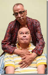 Danne W. Taylor and Charles A. Berglund star in Hurrican Damage, Pride Arts