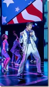 Eddie  Clendening stars as Elvis in Heartbreak Hotel, Broadway in Chicago Broadway Playhouse