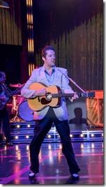 Eddie  Clendening stars as Elvis in Heartbreak Hotel, Broadway in Chicago