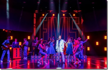 Heartbreak Hotel cast at Broadway Playhouse, Broadway in Chicago