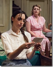 Emily Berman and Bri Sudia star as Lusia and Rose  in A Shayna Maidel at TimeLine Theatre