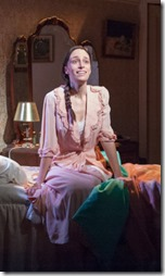 Emily Berman stars as Lusia in A Shayna Maidel, TimeLine Theatre