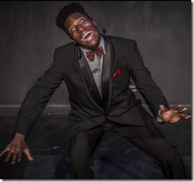 Sheldon Brown stars in The Shipment by Young Jean Lee, Red Tape Theatre Chicago
