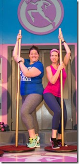 """Martha Wash, Kiley L. McDonald, Krissy Johnson, Katherine S. Barnes and Sarah Godwin star in Royal George Theatre's """"WaistWatchers The Musical"""" by Vince di Mura and Alan Jacobson, directed by Matt Silva."""