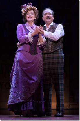 Betty Buckley and Lewis J. Stadlen star as Dolly and Horace in Hello Dolly, Broadway in Chicago