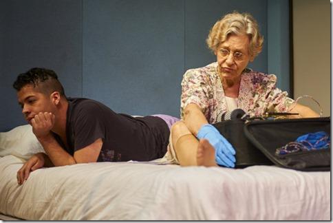 Brandon Rivera and Valerie Gorman star in Zürich at Steep Theatre (LM)