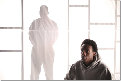 Brian Nelson Jr. and Jayson Lee star in Hooded or Being Black for Dummies, First Floor Theatre