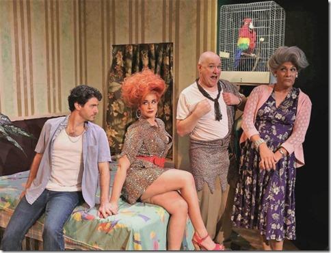 David Lipschutz, Sydney Genco, Ed Jones and David Cerda star in The Artificial Jungle, Hell in Handbag Prod