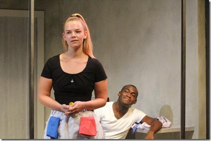Elizabeth Wigley and Debo Balogun star in Zürich at Steep Theatre (GG)