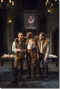 Jon Hudson Odom, David Alan Anderson and Steve Haggard star in Witch at Writers Theatre