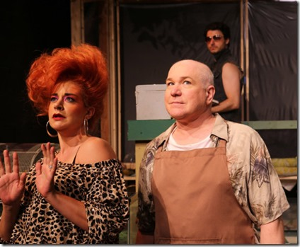 Sydney Genco, Ed Jones and David Lipschutz star in The Artificial Jungle, Hell in Handbag Productions