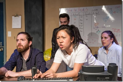 Adam Soule, Stephanie Shum and Elise Marie Davis with Alejandro Tey star in Plainclothes, Broken Nose