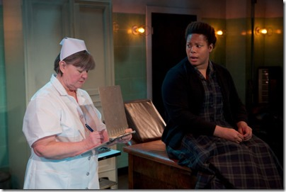 Ann James and Nicole Michelle Haskins star in HeLa, Sideshow Theatre and Greehouse Productions