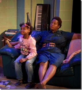 Ayah Sol Masai Hall and Nicole Michelle Haskins star in HeLa, Sideshow Theatre and Greehouse Productions