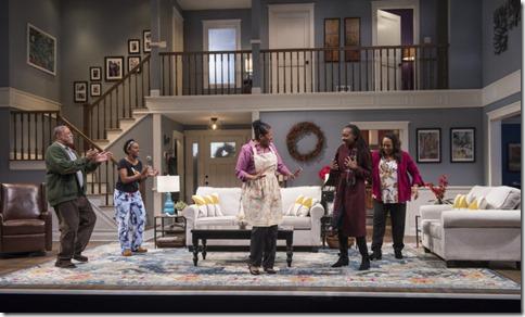 Cedric Young, Celeste M. Cooper, Ora Jones, Lanise Antoine Shelley and Jacqueline Williams star in Familiar