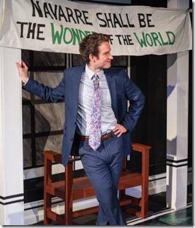 Charles Askenaizer stars in Love's Labour's Lost, Invictus Theatre
