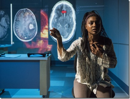 Courtney Williams stars as Makayla in Scientific Method, Rivendell Theatre