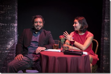 Eddie Martinez and Monica Orozco star in Rightlynd by Ike Holter, Victory Gardens Theater