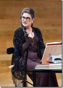 Janet Ulrich Brooks stars as Maria Callas in Master Class at TimeLine Theatre