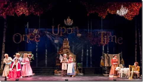Into the Woods cast at Music Theater Works, Stephen Sondheim 2