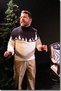 Nathan Pease stars as Father in The Winter Wolf, Otherworld Theatre