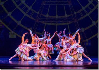 The Nutcracker by Christopher Wheeldon, Joffrey Ballet Chicago at Auditorium Theatre