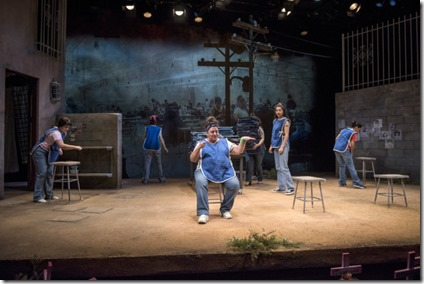 La Ruta cast at Steppenwolf Theatre by Isaac Gomez, directed by Sandra Marquez