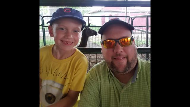 Andrew, 7, and Brian Filipowski (Courtesy of Brian Filipowski)