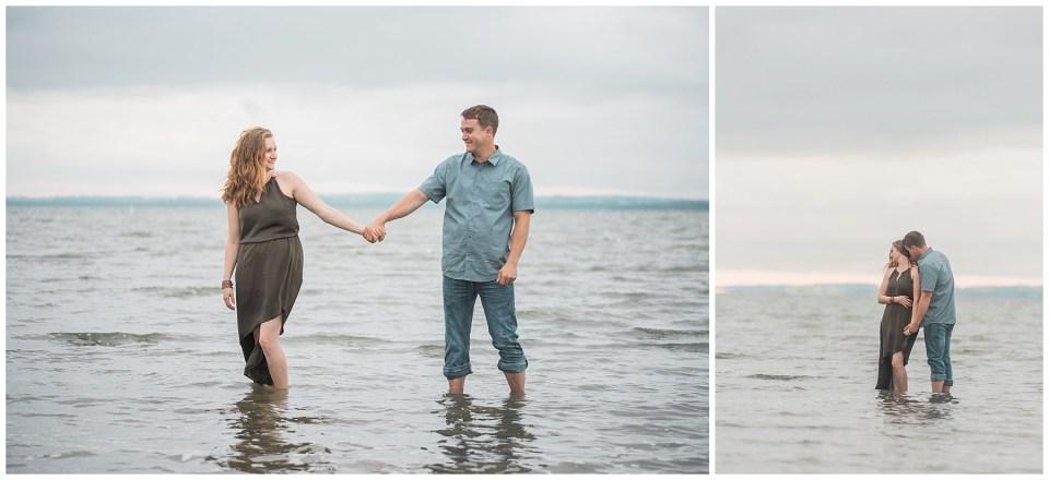 Gull Lake Engagement Photographer