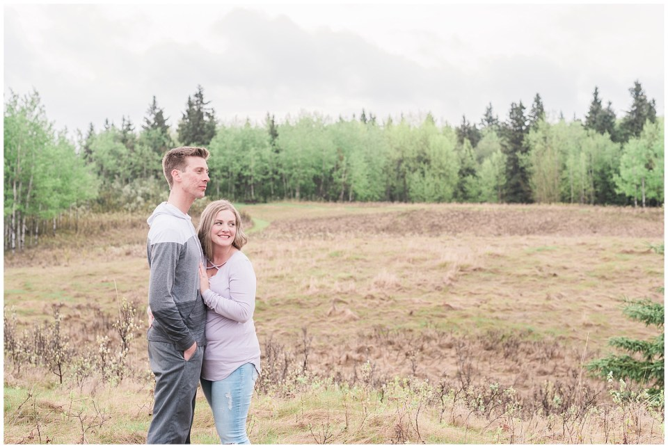 Central Alberta Engagement Photographer