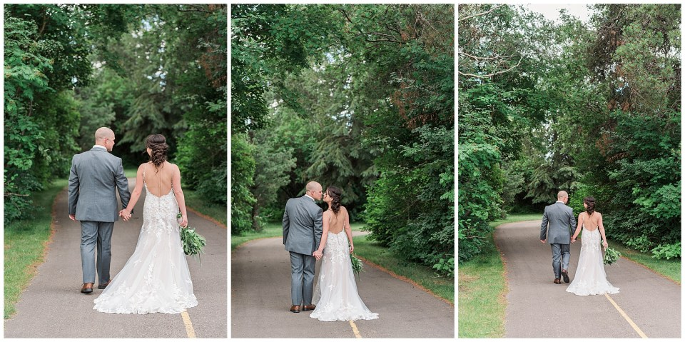 Outdoor Lincoln Hall Lacombe Wedding