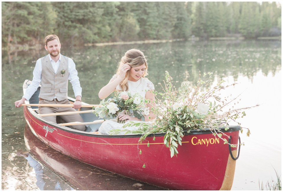 Creekside Villa Canmore Wedding