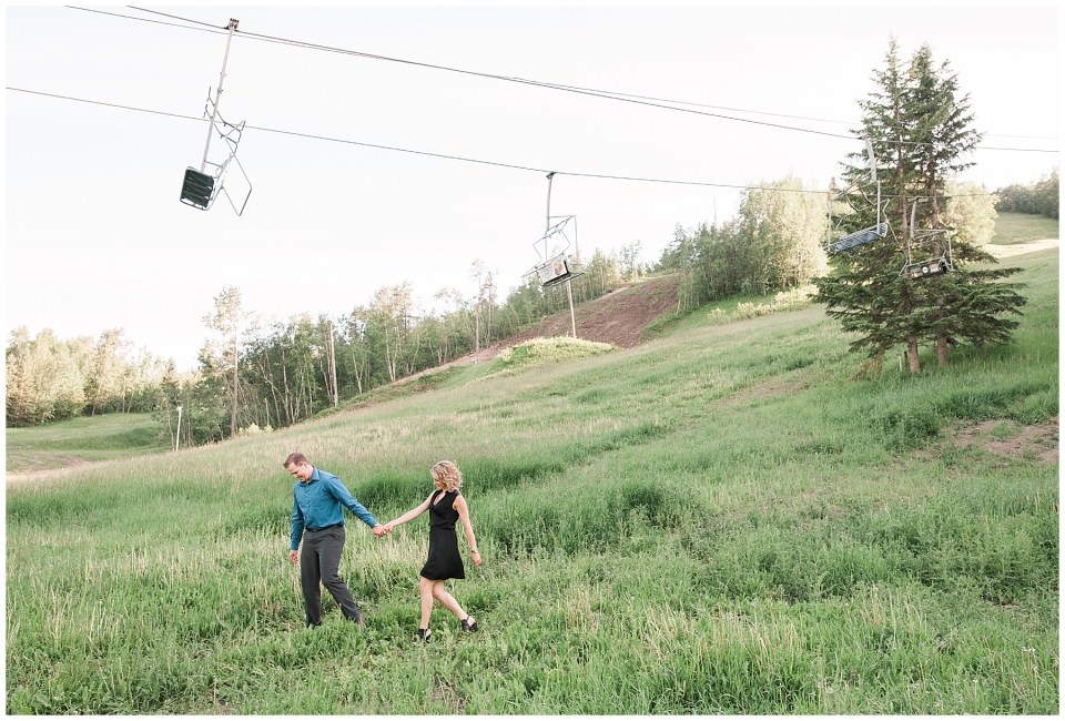 Summer Canyon Ski Wedding